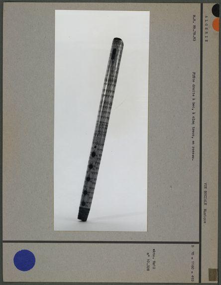 Flûte droite à bec