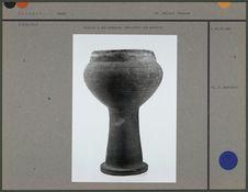 Tambour à une membrane sur poterie