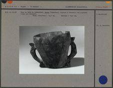 Vase en bois tabarekkat
