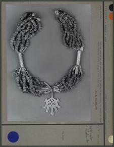 Collier corail et argent
