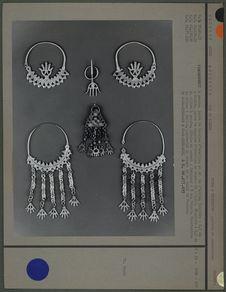 Boucles, pendentif, fibules