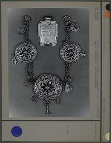 Collier et pendentif en argent