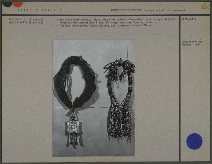Colliers de chameau (touareg)
