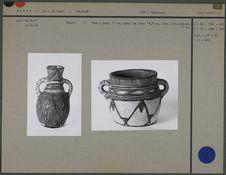 Cruche et vase