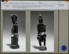 Statuettes en bois sans bras