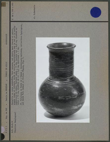 Fiasque en poterie