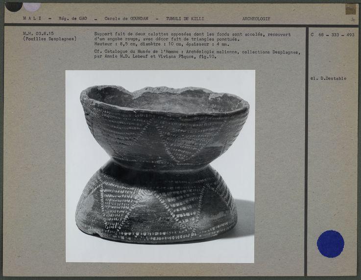 Double coupe en poterie