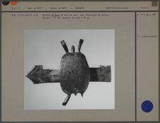 Serrure bambara figurant une tortue