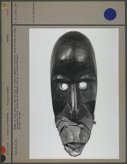 Masque en bois