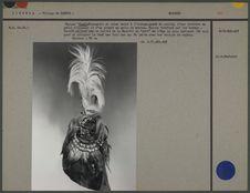 Masque : cagoule de coton teint à l'indigo