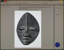 Masque en bois d'eho