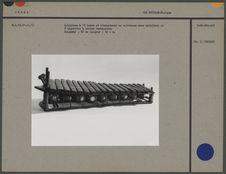 Xylophone à 18 lames et résonateurs