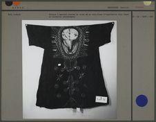 Tunique à manches courtes en coton