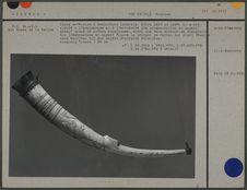 Corne en ivoire à embouchure latérale