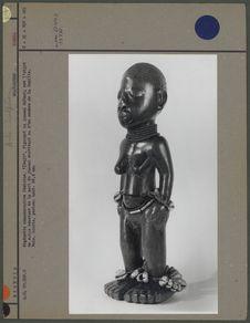 Statuette commémorative Yoruba
