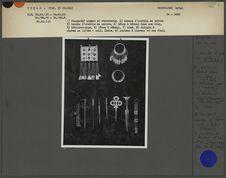 Exposition Sahara : planche bijoux Ouaddaï