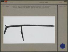 Couteau de jet en fer forgé (muzri)