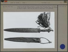 Couteau de femme loï sonou en fer forgé