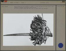 Arme de femme  kouloye de taille et d'estoc