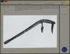 Couteau de jet : lame en métal