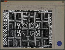 Grande tenture de coton Bamoun