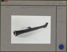 Flûte à embouchure terminale en bois