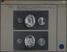 Médailles commémoratives en or