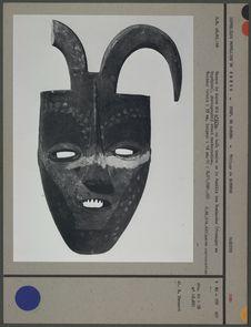 Masque de danse avant restauration