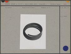 Bracelet de fer en spirale : monnaie