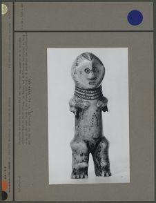 Statuette en ivoire, insigne du Bwamé
