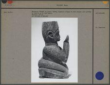 """Statuette """"Ntadi"""" en pierre tendre"""