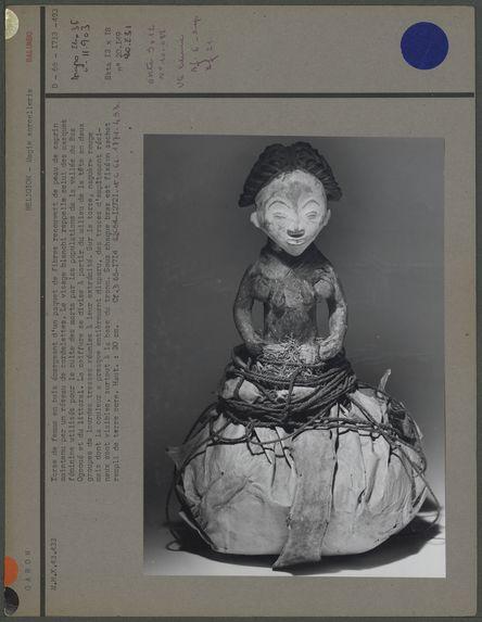 Statuette-fétiche balumbo