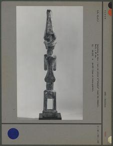 """Haut de pilier d'""""ebandja"""" (dos)"""