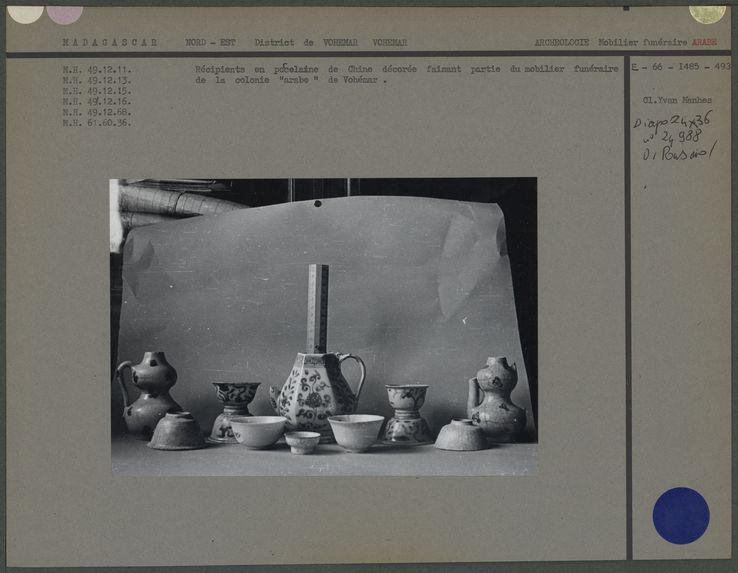 Récipients en porcelaine de Chine