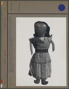 Poupée de chiffon fabriquée vers 1916