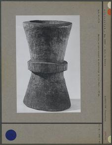 Mortier à riz en bois