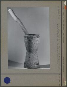 Mortier en bois d'Afiafy