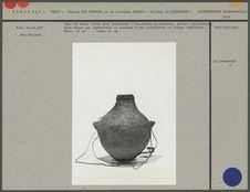 Vase en terre cuite pour conserver l'eau