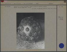 Vase aryballe polychrome