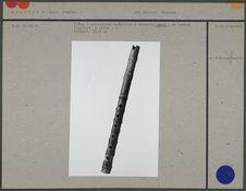 Flûte à embouchure terminale à encoche