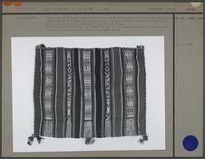 Bourse-musette en laine d'alpaga