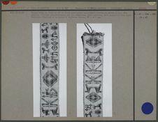 Bande de tissu en fil de coton