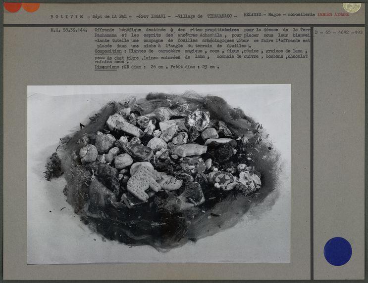 Offrande pour des fouilles archéologiques
