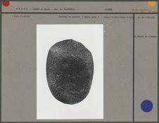 Molette en pierre (galet gris)
