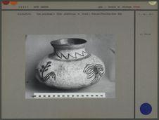 Vase polychrome en céramique