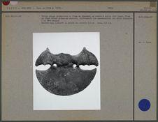 Petite plaque ornementale mochica