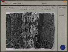 Bande de tissu double en laine et coton