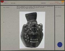 Vase en céramique à col ouvert
