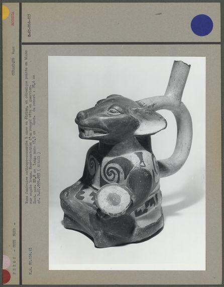 Vase anthropo-zoomorphe