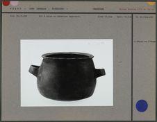 Pot à cuire en céramique brun-noir